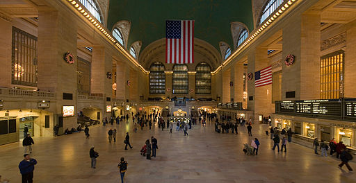 Grand Central Station Main Concourse Rectilinear projection Jan 2006