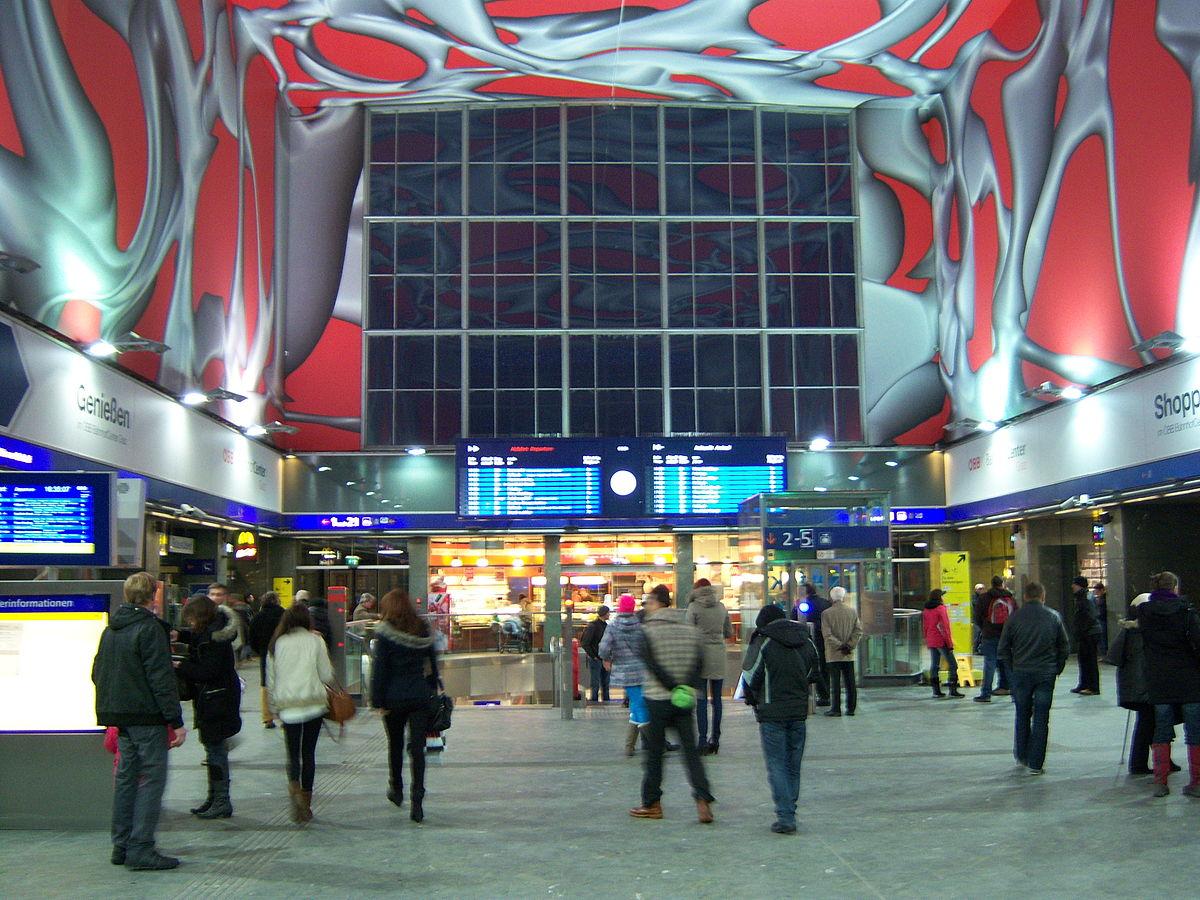 Estación Central De Graz Wikipedia La Enciclopedia Libre