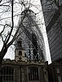 Great St Helen's with The Gherkin behind - geograph.org.uk - 1833999.jpg