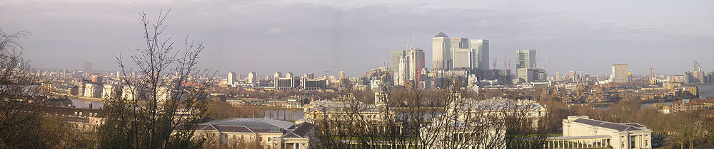 Panoramo di Greenwich.