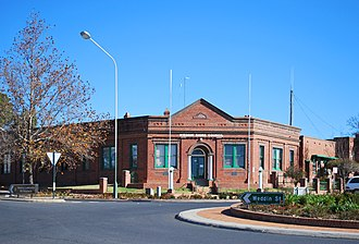 Weddin Shire - The Weddin Shire Council Chambers, in Grenfell.