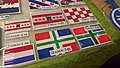 Groninger flag patches at the TT-Hall Motorbeurs in Assen (2018) 03.jpg