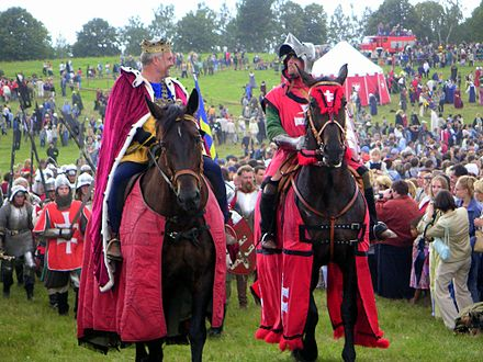 2003 re-enactment of the Battle of Grunwald Grunwald 2003.jpg