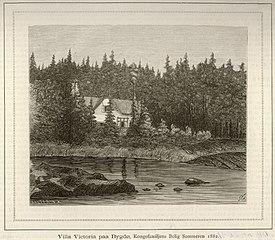 Villa Victoria paa Bygdø, Kongefamiljens Bolig Sommeren 1882