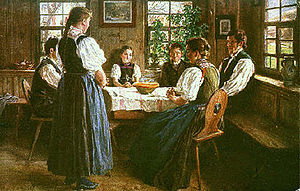 Wilhelm Hasemann - Gutach Family (c. 1900)