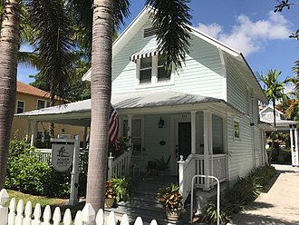Delray Beach, Florida - Gwynn House, built in 1907 is the third oldest House in Delray Beach