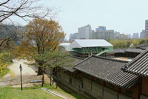 Gyeonghuigung - Restoration of Gyeonghuigung and view of its surroundings.