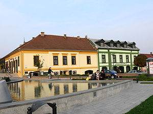 Gyula, Hungary - Downtown of Gyula