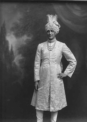 Cooch Behar State - Maharaja Shri Sir Jitendra Narayan Bhup Bahadur.