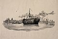 H.M.S. Grampus, a hospital ship, lying off Deptford Creek, G Wellcome V0013354.jpg
