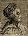 H. von Mautzion, a character with a grotesque face. Line eng Wellcome V0007459EL.jpg