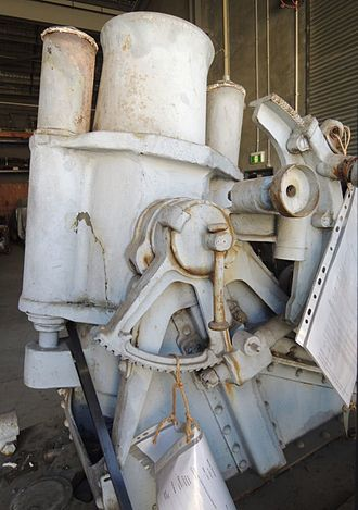 17 cm mittlerer Minenwerfer - 1917 a/A mMW Nr.5763 at the Queensland Museum, Brisbane