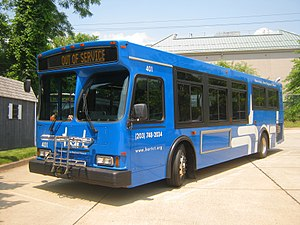 Housatonic Area Regional Transit - Image: HART Orion 401