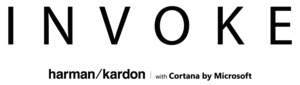 Invoke (smart speaker) - Image: HK Invoke with Cortana Logo