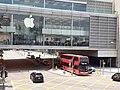 HK 中環 Central 民光街 Man Yiu Street 行人天橋 footbridge view Apple store IFC Mall April 2020 SS2 04.jpg