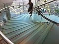HK 中環 Central IFC mall 蘋果店 Apple Shop interior stairs Oct-2011 002.jpg