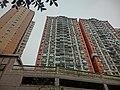HK 北角半山 North Point Mid-Levels 雲景道 56 Cloud View Road 富豪閣 Beverley Heights Apr-2014 facade Hilltop Mansion.JPG
