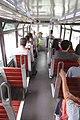 HK CWB Tram 116 upper deck interior n visitors Sept 2017 IX1.jpg