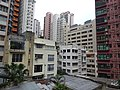 HK Central 些利街 Shelley Street 回教清真禮拜總堂 Jamia Mosque view low-rises building Mar-2016 DSC 003.JPG