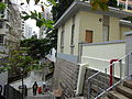 HK Sheung Wan 上環 磅巷 Pound Lane house stairs Feb-2016 DSC.JPG