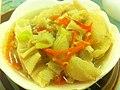 HK Sheung Wan 金鑽海鮮皇宮酒家 Daimond Restaurant 點心 Dim Sum 牛柏葉 Niubaiye Albert Yip Mar-2012.jpg
