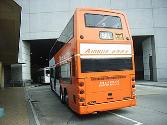 Alexander ALX500 - Long Win Bus Alexander ALX500-bodied Dennis Trident 3 rear.