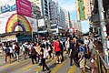 HK YL 元朗 Yuen Long 青山公路 元朗段 Peak Castle Road downtown crossway n visitors May 2018 IX2.jpg