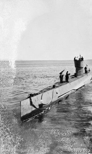 HMAS K9 - HMAS K9 in 1943