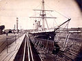 HMS Amphion in drydock at Esquimalt circa 1889-1890.jpg