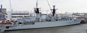 HMS Chatham (F87) - Image: HMS Chatham