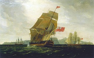 <i>Intrepid</i>-class ship of the line 1770 class of ships of the line of the Royal Navy