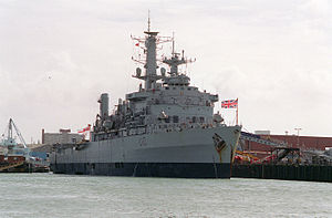 Operation Motorman - Image: HMS Fearless L10 Portsmouth 1994
