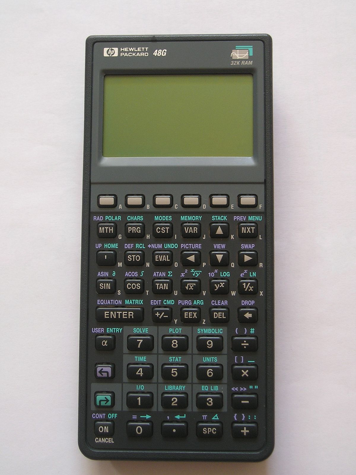 Hp 48g graphing calculator: amazon. Co. Uk: electronics.