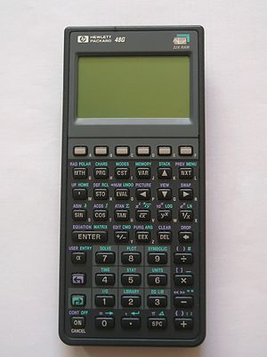 HP calculators - HP 48G