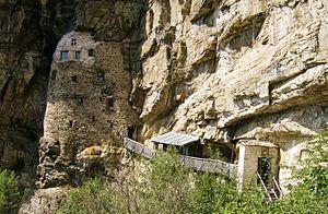 Studenica Monastery - Monastic cells.