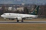 HZ-MF1 Boeing B737-7FG BBJ B737 - Saudia Ministry of Finance (16324261382).jpg