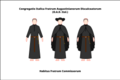 Habit of the discalced Augustinian lay friars of the congregation of Italy.png