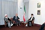 Hafez al-Assad visit to Iran, 1 August 1997 (13).jpg
