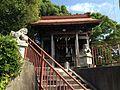 Haiden of Itsukushima Shrine in Nakama, Fukuoka.jpg