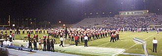 Javelina Stadium - Image: Half time show (2192212604)