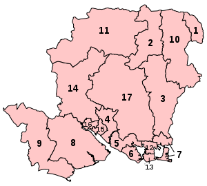 Parliamentary constituencies in Hampshire