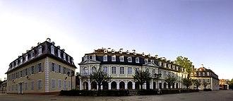 Hesse-Hanau - Wilhelmsbad was built during the short sovereignty of Hesse-Hanau.