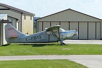 Hanover Saugeen Airport - Image: Hanover Saugeen Stinson 108