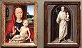 Hans memling, madonna col bambino e sant'antonio da padova, 1485-90 ca. 01.jpg
