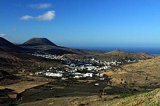 Haría (municipality) - View of Haría