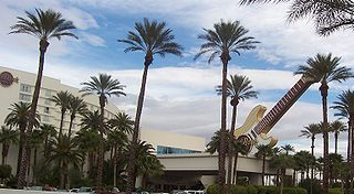 Hard Rock Hotel and Casino (Las Vegas) Hotel & casino skyscraper in Las Vegas