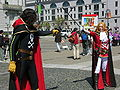 Harlock & Emeraldas cosplayers at 2010 NCCBF 2010-04-18 5.JPG