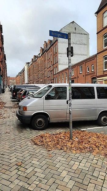 Harriesstraße, 2020