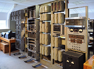 University of Wolverhampton - The WITCH at the National Museum of Computing, Bletchley Park, March 2010