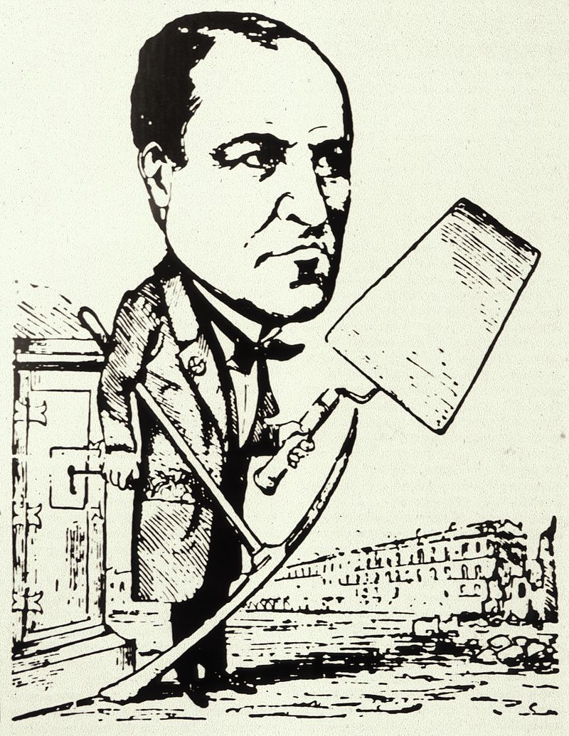 """Haussmann como .jpg """"Artiste Démolisseur"""""""